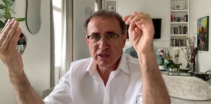 Nouriel Roubini: Bitcoin must embrace the rule of law