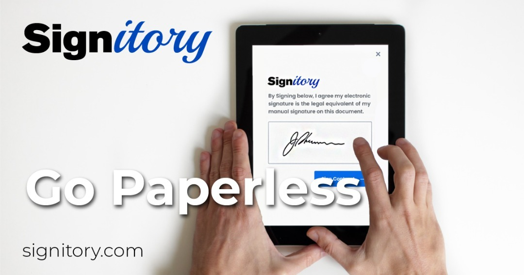 Signitory Released A New Blockchain-Powered Software To Revolutionize The E-Signature Market