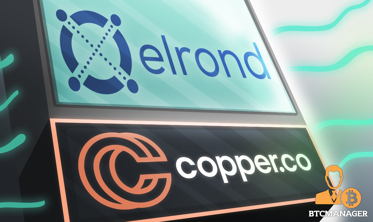 Elrond Blockchain Assets & EGLD Now Supported by Digital Custody Services Provider Copper.co