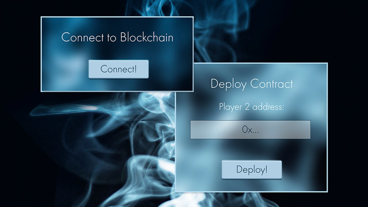 Ethereum blockchain: embed smart contracts in decentralized applications
